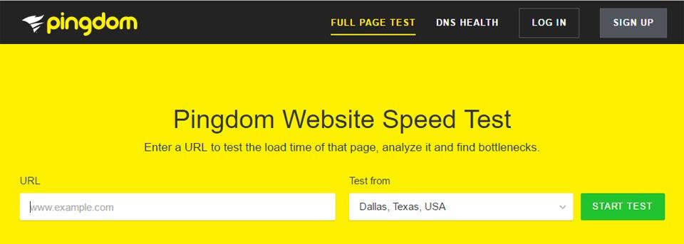 Pingdom-Test-Velocidad