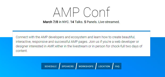 AMP Conf NYC 2017